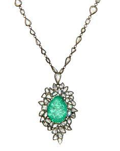 Kimberly McDonald pendant necklace, Platinum Guild, price upon request, platinumguild.com