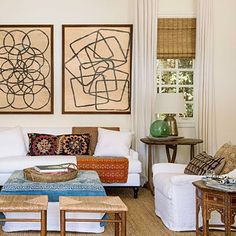 Boho modern style in SoCal | Find more geometric artworks at Saatchi Art: http://www.saatchiart.com/all?query=geometric