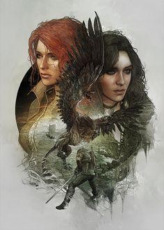 The Witcher 3 Steelbooks - StudioKxx