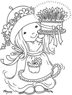 """Stampavie Penny Johnson Clear Stamp Happy Day 3-1/3"""" PENNYCLR-PEN70"""