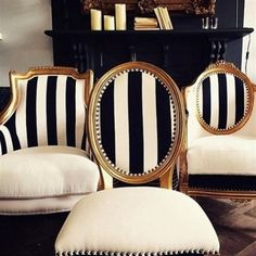 Dining Room Chairs for Sale . Dining Room Chairs for Sale . Set Of Eight Zebra Stenciled Cowhide Dining Chairs Upholstered Chairs, Chair Cushions, Chair Slipcovers, Dining Room Sets, Black Dining Room Table, Black And White Dining Room, Black And White Furniture, White Rooms, Dining Table