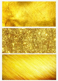 Three kinds of gold background, Sprinkle Gold, Background, Three Kinds PNG and PSD