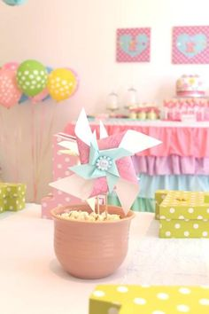 Cute as a Button 1st Birthday Party with So Many Darling Ideas via Kara's Party Ideas | KarasPartyIdeas.com #GirlParty #1stBirthday #Buttons #Sewing #PartyIdeas #PartySupplies