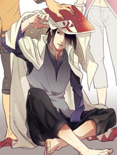 It's so cuuuute! Naruto putting his Hokage garb on his best friend X3 Yes they…
