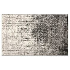 Check out this item at One Kings Lane! Jana Rug, Gray/Black