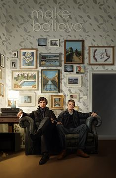 tillieke:  Make Believe - Sherlock by ~tillieke Time to call this one finished as it was starting to drive me crazy. :B Prints available in my Society6 shop