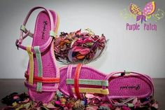 Purple Patch Eid Footwear Collection 2012 For Women Pictures