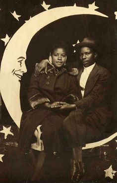 Couple on a Paper Moon