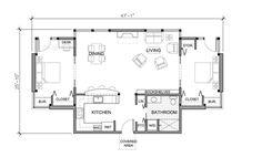 16 X 24 Sample Floor Plan Please Note All Floor Plans