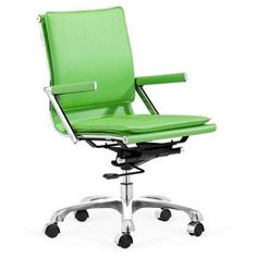 Check out this item at One Kings Lane! Glover Office Chair, Green