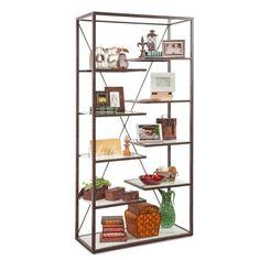 Philip Reinisch Co. Philip Reinisch Point Loma Industrial Bookcase - 14001