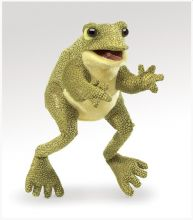 Funny Frog Hand Puppet  | MiniZoo