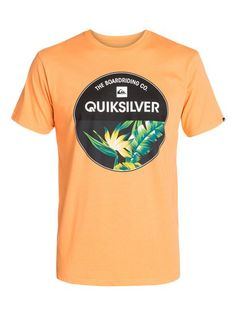 quiksilver, Classic Tee Rise Above, TANGERINE (njf0)