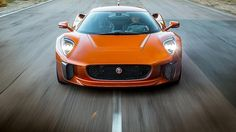 Vom James Bond Jaguar C-X75 gab es