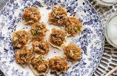 Photo de la recette de Coupelles de porc à l'asiatique de 3 fois par jour