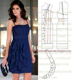 Sewing clothes couture how to make 36 trendy Ideas Diy Clothing, Sewing Clothes, Clothing Patterns, Dress Patterns, Sewing Patterns, Fashion Pattern, Dress Tutorials, How To Make Clothes, Diy Dress