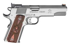 Springfield Armory 1911 Range Officer Now Available In Stainless Steel