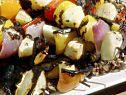 Veggie Kabobs with Herb and Garlic Marinade