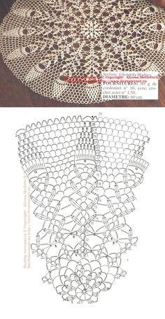 Салфетка крючком ... от 1000 Mailles (Франция)