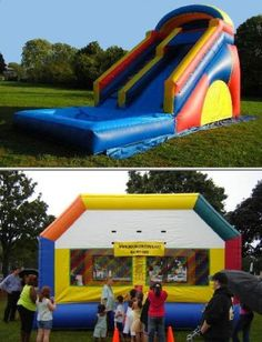 Bounce House Entertainment Inc. brings life to parties with their party entertainers and rental services. They have kids face painters, bounce houses, jump slides, mascots, popcorn machines, and more.