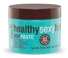 Healthy Sexy Hair Soy Paste: matte finish, good hold - and shampoos out easily!