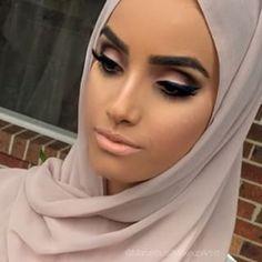 Glam #arabic #cateye #makeup