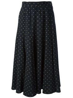 Kenzo Vintage polka dot skirt