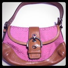 Coach Pink Signature CC Bag Purse. Style B0894. Coach Pink Signature CC Bag Purse. Style B0894. In excellent, like new! Coach Bags