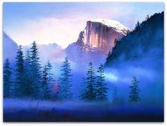 H. Leung watercolor landscape #watercolor jd