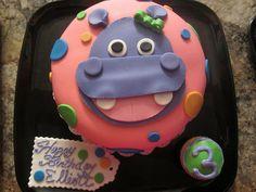 Hippo Cake for Little B