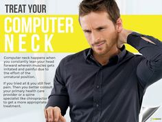When you get headaches from using the computer for too long which makes you rub your neck all the time to relieve the pain, or when your co-workers have been commenting that you look like a troll when sitting at your desk, time to be concerned because it's possible that you have a computer neck. #cheapchiropractorsingapore #chiropracticsingapore #chiropractorsinsingapore #singaporechiropracticclinic