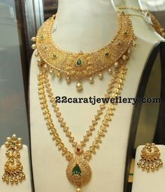 Lakshmi Long Chain Antique Choker