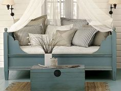 Now out of production Pottery Barn Priscillia daybed. Darn.