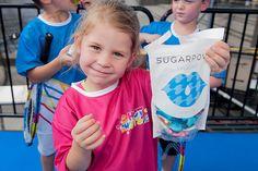 Hot Shots kids love #Sugarpova, especially Splashy!