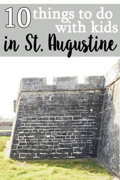 Disclosure: St. Augustine, Ponte Vedra The Beaches Visitors & Convention Bureau provided my family will passes to visit various places throughout the city. As always, opinions are my own! We vi…
