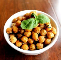 Completely addictive crispy chickpeas--we call them crackpeas! So easy, so healthy, and insanely delicious!