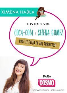 Selena Gomez acaba de romper el hit de más me gusta en su foto con Coca-Cola en Instagram. El triunfo es realidad de Coca-Cola, ¡no de Selena! ¿A quién no le gustaría lograr que grandes influencers promocionen nuestros productos en sus redes? ¿A ti sí? Te enseño cómo lograrlo con tus productos y emprendimiento online! ¡HAZ CLIC YA pa a llevarte los hacks de Coca-Cola y Selena Gomez para ti!