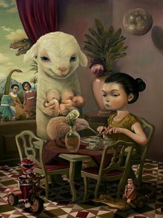 Cute and creepy illustrations by Roby Dwi Antono