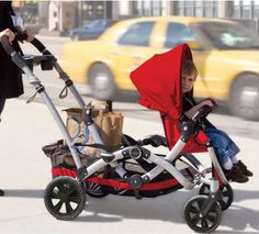 With two small children, a double stroller is a must have item. I can't risk having my son run off while I tend to the baby. The only prob. Best Double Stroller, Double Strollers, Baby Strollers, Two Of A Kind, Full House, Tandem, Contours, Children, Collection