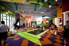 A Latte Fun - Indoor Playground AND cafe! I want one in Western North Carolina...PLEASE! Brilliant!