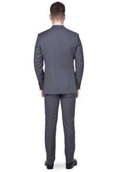Lancerto Garnitur Business Mix Szary www.lancerto.com