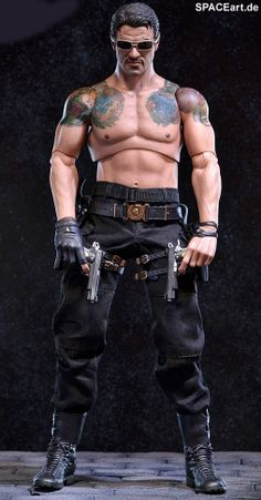 The Expendables 2: Barney Ross - Deluxe Figur ... http://spaceart.de/produkte/exp002.php