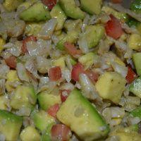 Gazpacho (Puerto Rican Salt Cod Salad)