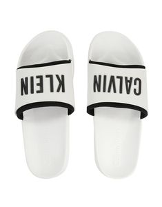 dc0f795b2c42 Calvin Klein CK Slide Flip Flops are perfect for the summer months thanks to  their slider