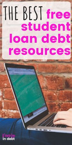 One of the worst parts about having six figures of student debt was feeling like I was completely alone and not having any resources or tools to help me. That's why I threw together this FREE student loan resources guide, to help you navigate your st Apply For Student Loans, Private Student Loan, Paying Off Student Loans, Scholarships For College, Education College, College Loans, Dave Ramsey, San Diego, Loan Money