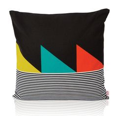 geometric pillow from Funkle Design $113