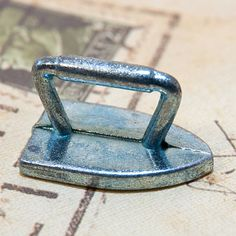 Monopoly piece for a charm or pendant iron for your by CoolVintage