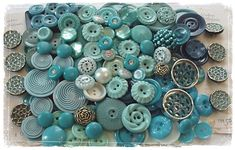 Turquoise Buttons