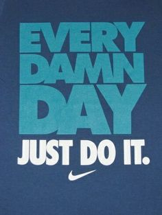 Just do it..