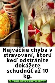 Najväčšia chyba v stravovaní, ktorú keď odstránite dokážete schudnúť až 10 kg. Baked Potato, Cucumber, Detox, Healthy Recipes, Healthy Food, Potatoes, Baking, Ethnic Recipes, Healthy Foods